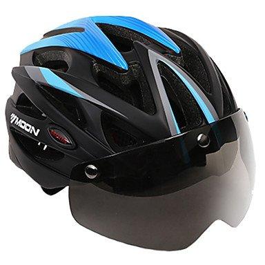 MOON - Casco de bicicleta deportiva para mujer, 25 ventilaciones, ciclismo, ciclismo...