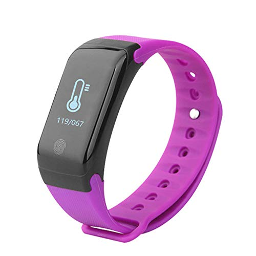 MIKLL Fitness Tracker,Orologio Fitness,Impermeabile IP68 Smartwatch,Braccialetto Pressione Sanguigna Cardiofrequenzimetro da Polso,Contapassi Calorie Corsa Sport Watch,Smartwatch Uomo Donna