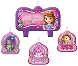 Amscan AM-171351 Candles, 4 Pieces, Multicolored