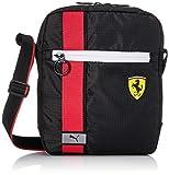 PUMA Ferrari Race Large Portable Bandolera, Adultos Unisex, 2 (Negro), Talla Única