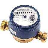 - Compteur d'eau - Compteur divisionnaire eau froide pré-équipé télérelevage - 1' (26x34) - Classe MID R100 - PN16 - Sferaco