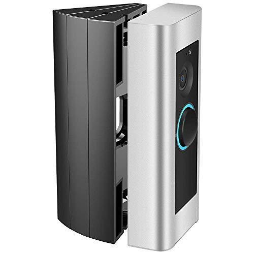 CAVN Montaje en ángulo ajustable Compatible con Ring Doorbell Pro (3 paquetes), Video Doorbell Corner Kit Adaptador de ajuste de ángulo Adaptador de placa de montaje Kit de cuña para Doorbell Pro