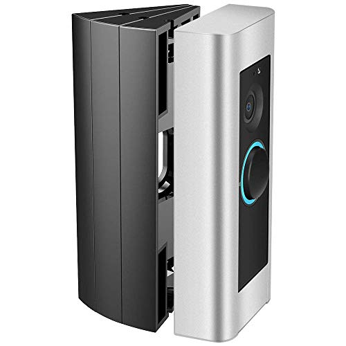 CAVN Einstellbare Wnkelhalterung Kompatibel mit Ring Doorbell Pro Angle Mount 3-Pack, Doorbell Pro Ecke Kit Winkeleinstellung Adapter Montageplatte Halterung Wedge Kit für Türklingel Pro
