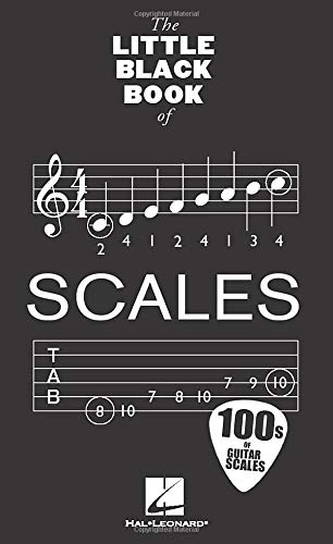 The Little Black Book Of Scales: Noten für Gitarre (Little Black Songbook)