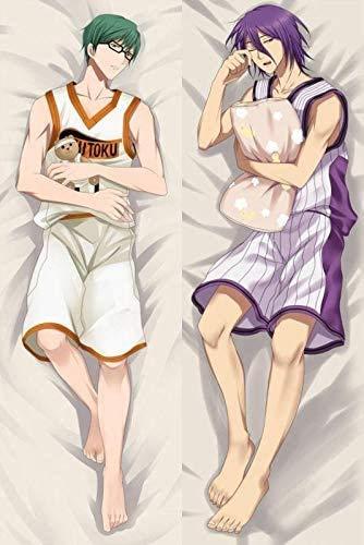 Promini 2021 Anime Kuroko No Basketball Shintaro Atsushi Throw Otaku Dakimakura Gifts Bedding Hugging Body Pillow Case Body Pillow Cover Pillowcases 20' x 54'