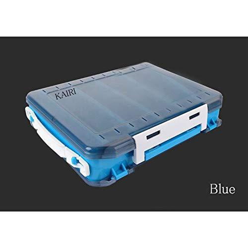 エギケース10個収納餌木エギルアー両面釣り釣具(Blue)