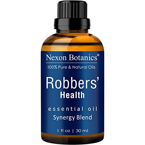 Nexon Botanics Robbers' Health Essential Oil Blend 30 ml - Formulated by 4 Thieves - Pure, Natural Undiluted Blend of Five Essential Oils - Guards and Defense Shield Against Germs