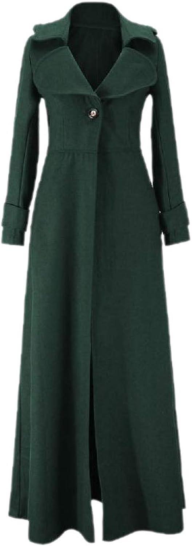 FreelyWomen Button Closure Tunic Eco Fleece Medieval Coat Jacket