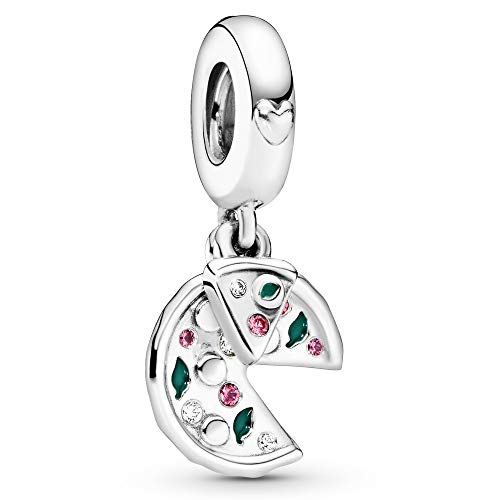 Pandora Jewelry Passion For Pizza Charm in Sterling Silver