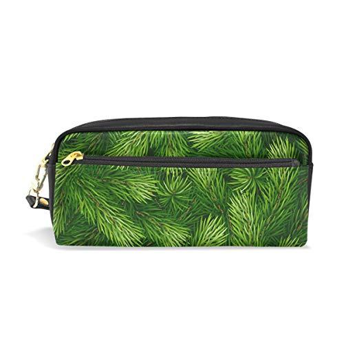 Bonie - Estuche para lápices, diseño de abeto de Navidad, color verde
