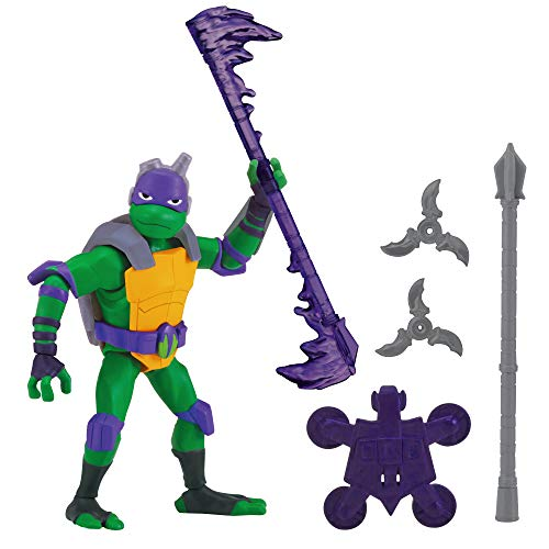 Return of the Teenage Mutant Ninja Turtles 80802 ROTMNT Donatello Basic Action Figur, mehrere Farben