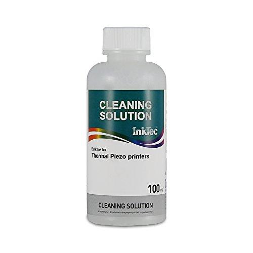 100 ml de LIQUIDO LIMPIADOR para eliminar restos de tinta de