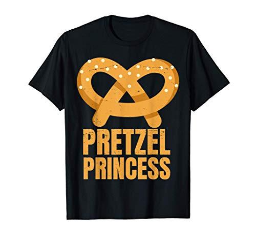 Pretzel Princess - German - Bavarian - Food - For Women- T-Shirt