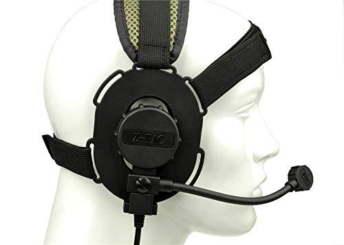 ATAIRSOFT Z-TAC Z029 Microphone Bowman EVO III Doulbe Side Headset...