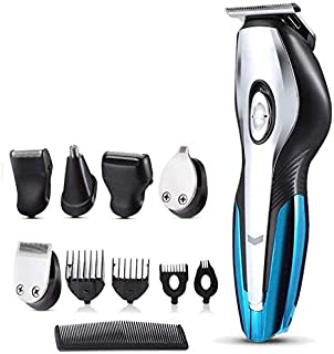 Mopoq Rechargeable Electric Hair Trimmers 11 in 1 Hair Clipper Electric Shaver Beard Trimmer Men Shaving Machine Nose Trimmer