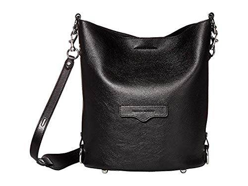 Rebecca Minkoff Small Utility Convertible Bucket Black One Size