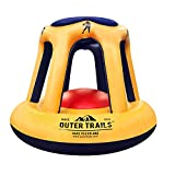 Outer Trails Swimming Pool Basketball Inflatable Floating Hoop and Ball Float Set