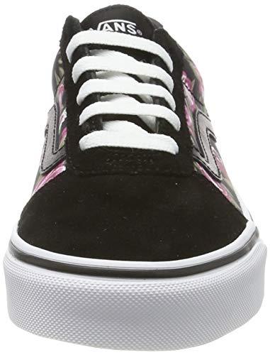 Vans Ward Suede/Canvas, Sneaker Donna, Multicolore ((California Poppy) Multi/White XX3), 37 EU
