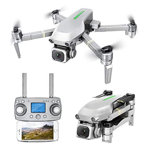 DAN DISCOUNTS RC Drohne, L109 Drohne mit Kamera 4K 5G WiFi Übertragung, Faltbarer mit Gestensteuerung, GPS Auto Return Indoor Outdoor Quadrocopter Training