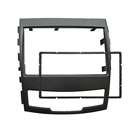 Feeldo Kit de montage de voiture 2 DIN pour autoradio stéréo CD/DVD