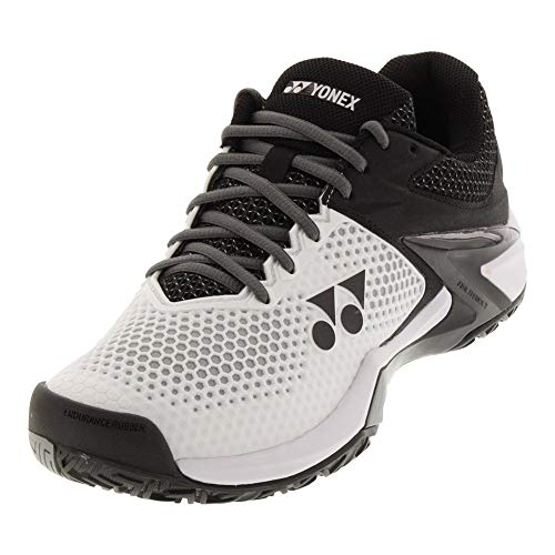 Yonex Power Cushion Eclipsion 2 Mens Tennis Shoe, White/Black (11)