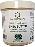 Certified Organic AFRICAN SHEA BUTTER from Ghana 16 oz | Unrefined, Raw, Ivory 100% Pure Natural Body Butter | Skin & Hair Moisturizing, Nourishing and Healing Cream and Base For DIY Skin Care Recipes