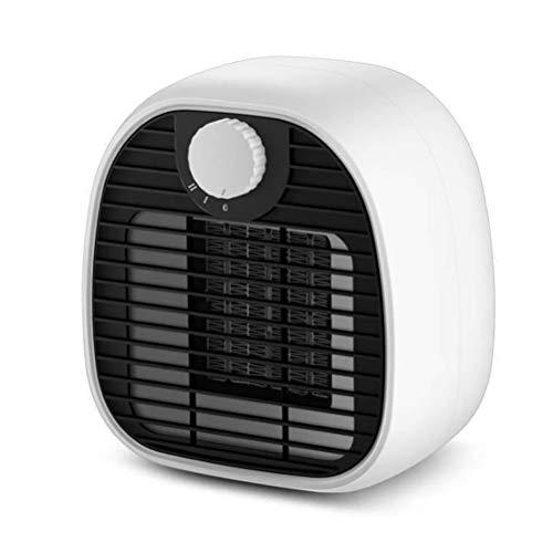 Mini fan calefactores, calentadores de cerámica, calefacción eléctrica PTC calefacción de cerámica, niveles de calefacción 250 vatios, calefacción muy silenciosa Ahorro de energía para sala de estar