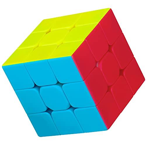 Mamowla Zauberwürfel 3x3 Original Speedcube Stickerless Speed Cube 3x3x3 Magic Cube für Kinder und Erwachsene Spielzeug Geschenke für Anfänger