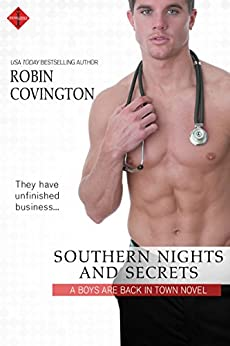 Southern Nights and Secrets (The Boys are Back in Town Book 4) by [Robin Covington]