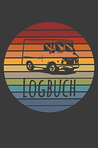 Wohnmobil Logbuch: Reisebuch | Tourenbuch | Retro Look | Vintage | Geschenk Camper