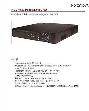 CVI HCVR5416L-V2 同期再生と動作検知の同期再生 本格的HD-CVI DVR HDDなし 安心の1年保証