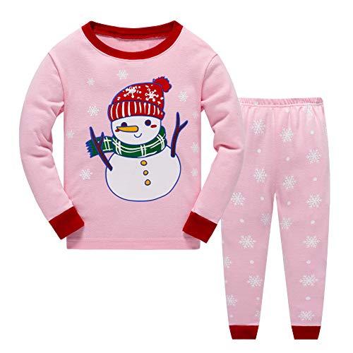 Pijama para niño y niña, de algodón con diseño de jirafa, manga larga, pijama 98 104 110 116 122 128 134 140...