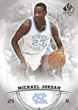2013-14 SP Authentic Basketball #15 Michael Jordan North Carolina Tar Heels