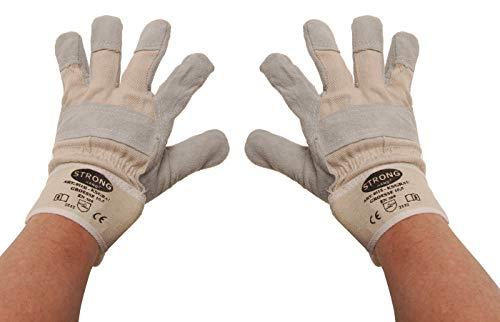 BGS 9957   Gants de travail   cuir, rembourrés   taille 10,5