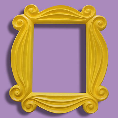 Friends Peephole Picture Frame, The Frame seen in Monica's Door, Best Gift for Friends(Yellow)