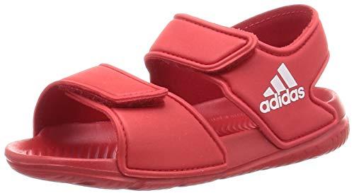 Adidas Altaswim Jr, Sandalia Unisex niños, Rojo (Scarlet/FTWR White/Scarlet), 27 EU
