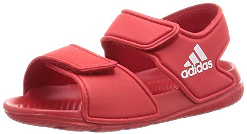 Adidas Altaswim Jr, Sandalia Unisex-Baby, Rojo (Scarlet/FTWR White/Scarlet), 27 EU