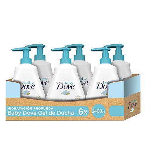 DOVE BABY Schwimmende Duschgel für den Kopf, 400 ml, 6er-Pack, 2400 ml