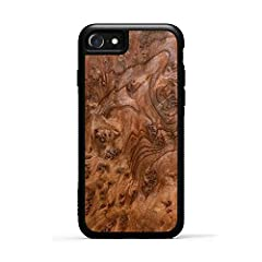 ARTISAN HANDCRAFTED WOOD - Designed for iPhone 8, the craftsmanship on these handcrafted cases make them the perfect accessory to show off the natural beauty of wood, while providing premium protection with a minimalistic classy wooden case design. T...