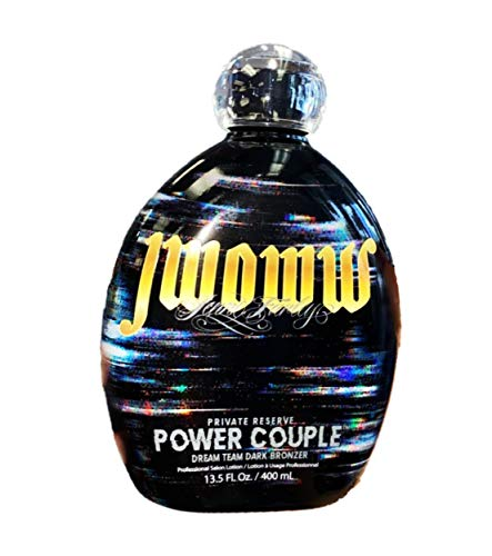Jwoww Private Reserve POWER COUPLE Tanning Lotion 13.5 oz