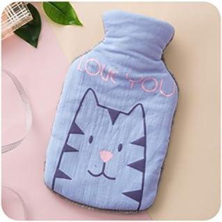 Warmtefles, cadeauset, hals, taille, benen, buik, verjaardag, beste cadeaus voor geliefden, ouders en kinderen, lichtblauw...