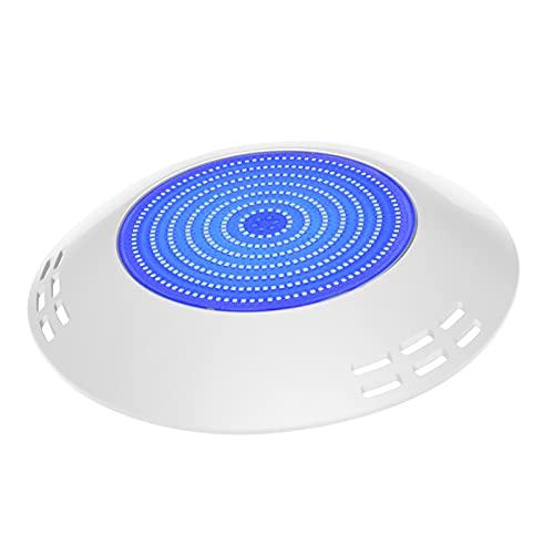 LyLmLe Foco LED Piscina Relleno de Resin,35W Lámpara Superficie extraplano Azules Puras,1050lm, IP68 Impermeable, 12V AC/DC