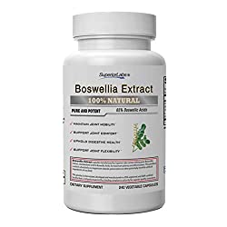 Boswellia Extract by Superior Labs - Non Synthetic, 600mg, 120 Vegetable Caps