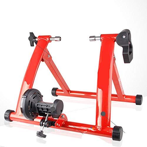 Bicicletta Rullo Rullo Bicicletta Rullo Allenamento Elite Roller Bike Training Home Esercizio al Coperto 26-28 Rallentatore di Resistenza Magnetica Rullo da Allenamento per Cyclette