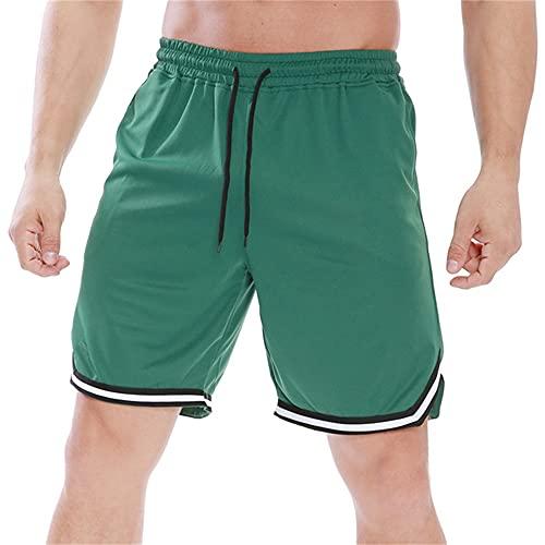 N\P Pantalones Cortos De Los Hombres Culturismo De Secado Rápido Deportes Cortos