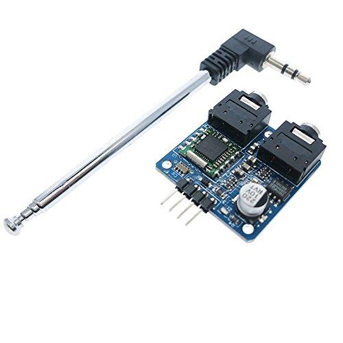 iHaospace TEA5767 FM Stereo Radio Module with Antenna for Arduino Raspberry Pi DIY 76—108MHZ