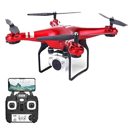 whelsara Drone Telecamera 720P / 1080P Drone Professionale Dual con Grandangolare Telecamera Regolabile HD WiFi Funzione Seguimi modalità Senza Testa Contemporary