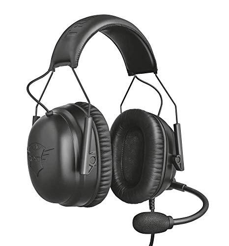 Trust Gaming Audífonos Gamer con Micrófono y Cancelación de Ruido, High Definition Estéreo 360°, Auriculares Diadema para Esports,...