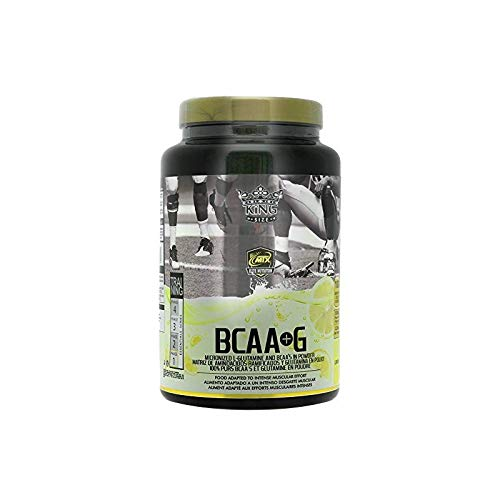 MTX nutrition BCAA'S + G R.GOLD Gourmet [1,0 Kg] Limón - Aminoácidos PREMIUM de Cadena Ramificada (50%) + L- Glutamina (50%) KIOWA_Quality en polvo aromatizados.