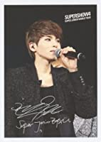 [公式トレーディングカード] SUPER JUNIOR - SUPER SHOW 4 CONCERT BOOK [OFFICIAL PHOTOCARD POSTCARD] RYEOWOOK [韓国製]